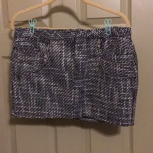 Tweed- inspired Mini skirt